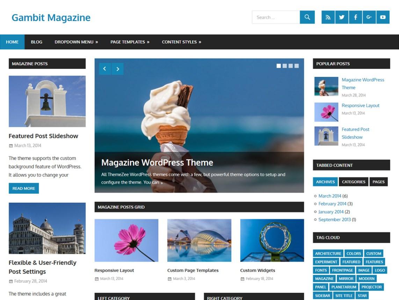 10 Free Magazine WordPress Themes 2017 | Themely