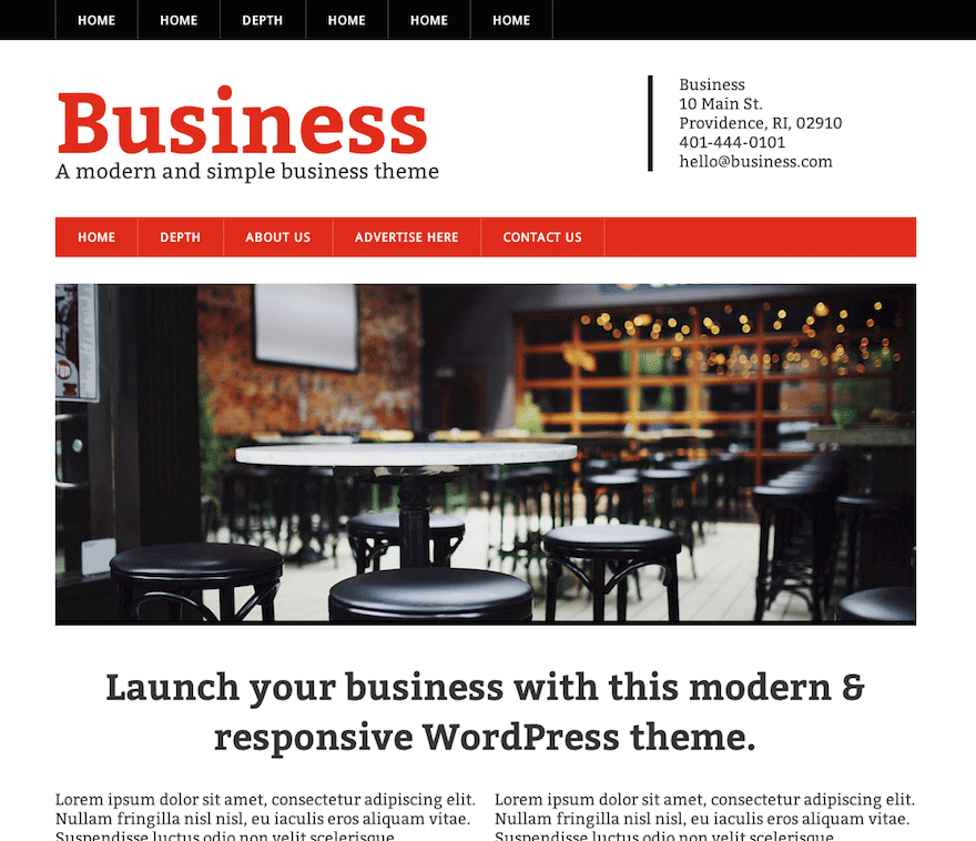 10 free business wordpress themes 2017 themely modern business accmission Image collections