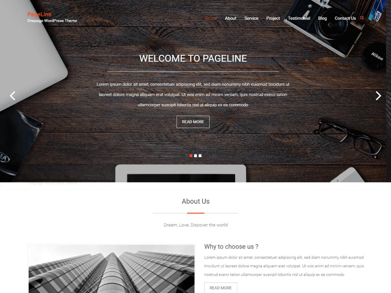10 Elegant Free One Page Wordpress Themes 2017 | Themely