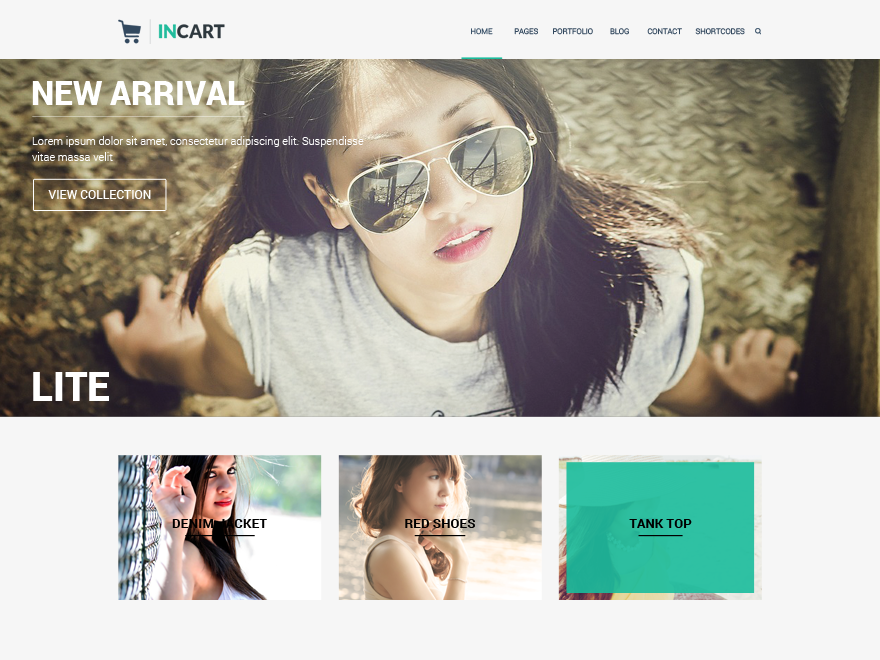 Incart Lite Theme