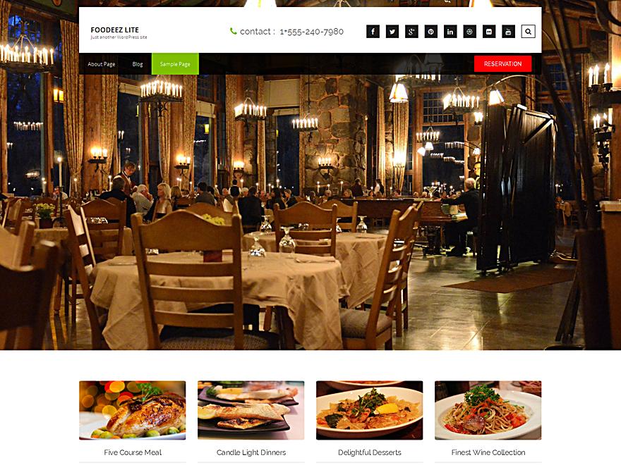 10 Free Restaurant Wordpress Themes 2017 | Themely