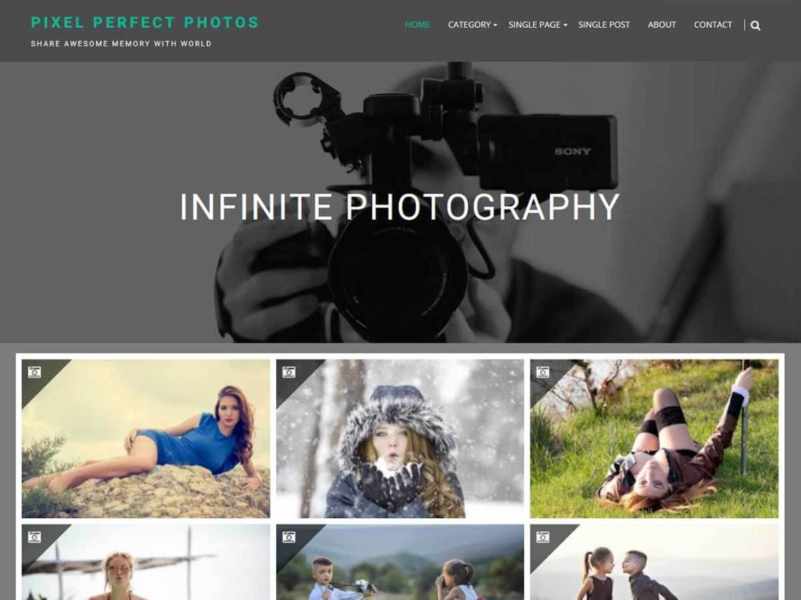 Infinite Photography Theme