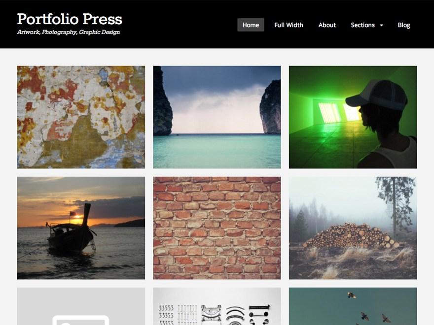 Portfolio Press Theme