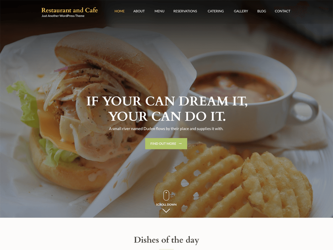 Restaurant and Cafe Theme
