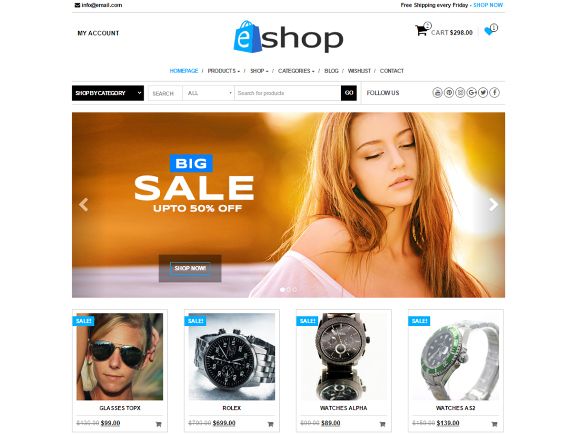 10 Free eCommerce Wordpress Themes 2017 | Themely