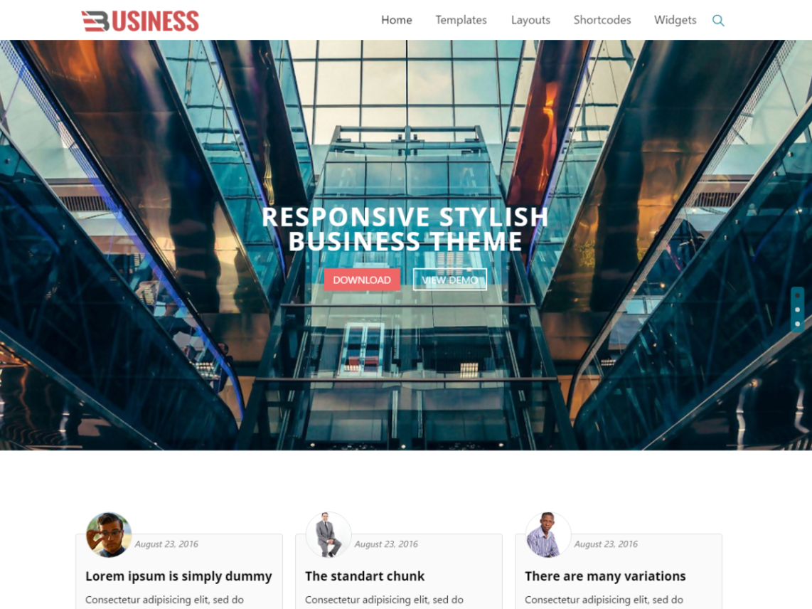 Business World Theme