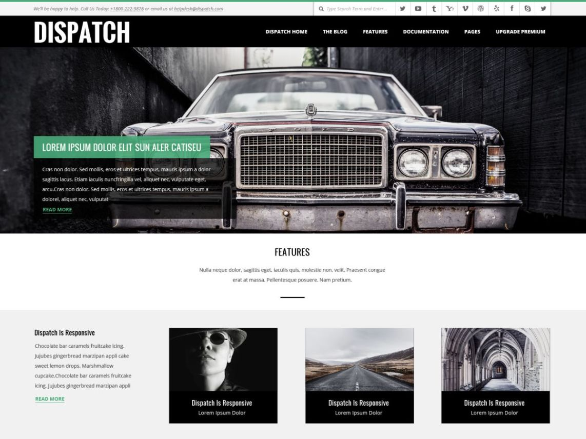 Dispatch Theme
