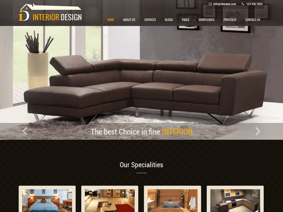 Interior Lite Theme