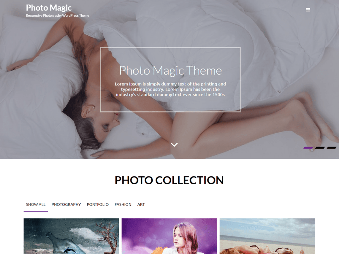 Photo Magic Theme