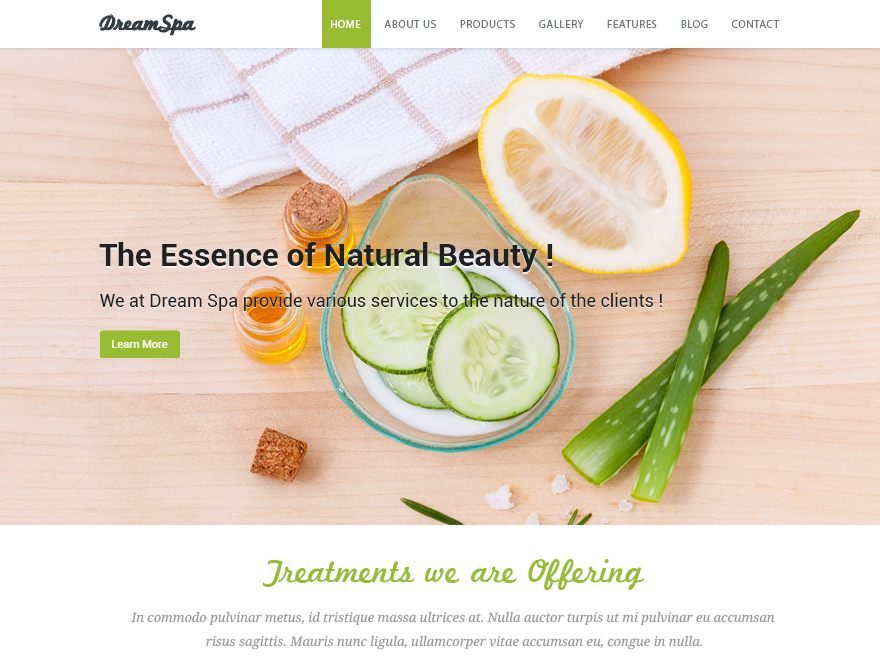 10 Free Beauty Spa Wordpress Themes 2017 Themely