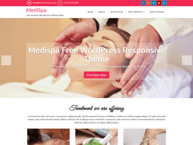 MediSpa Theme