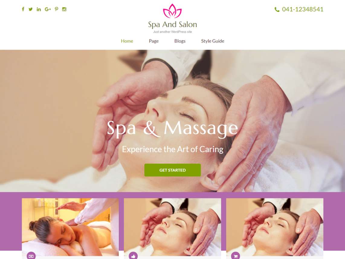 Spa and Salon Theme