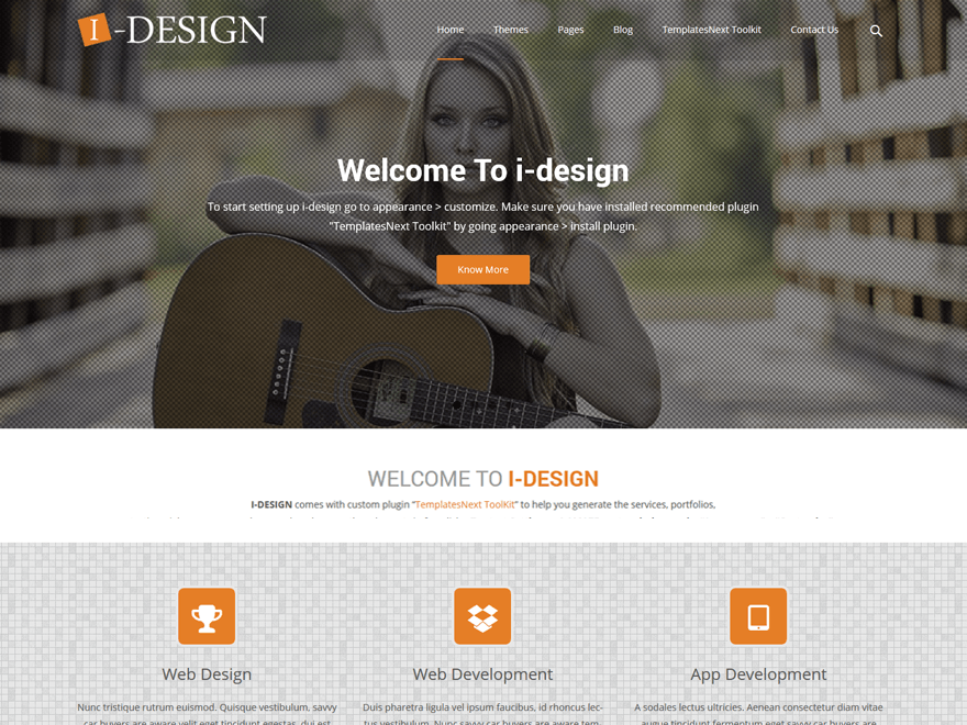idesign theme