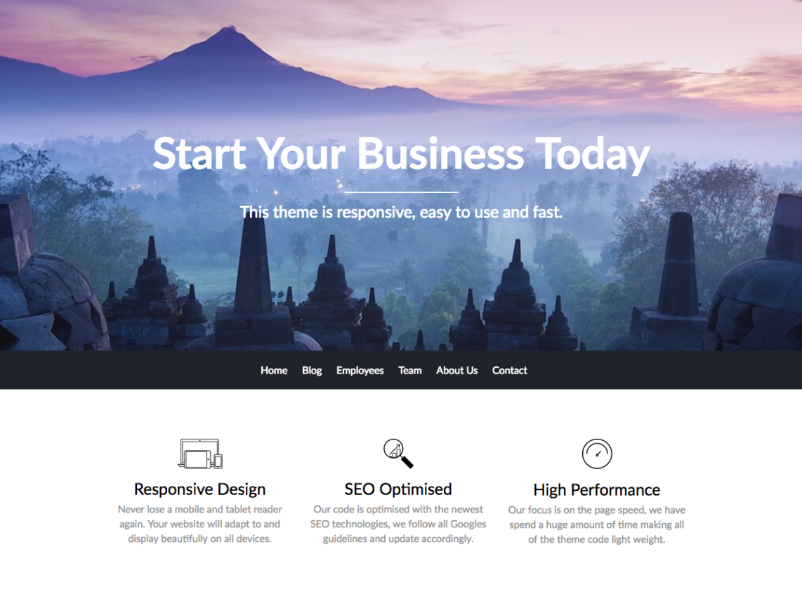 Business builder Template