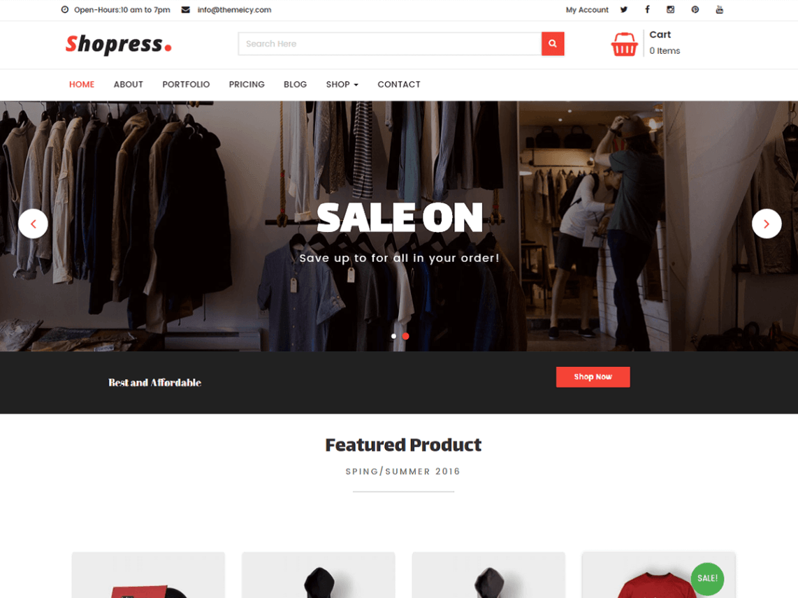 Shopress Theme
