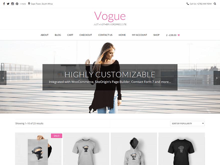 Vogue Theme