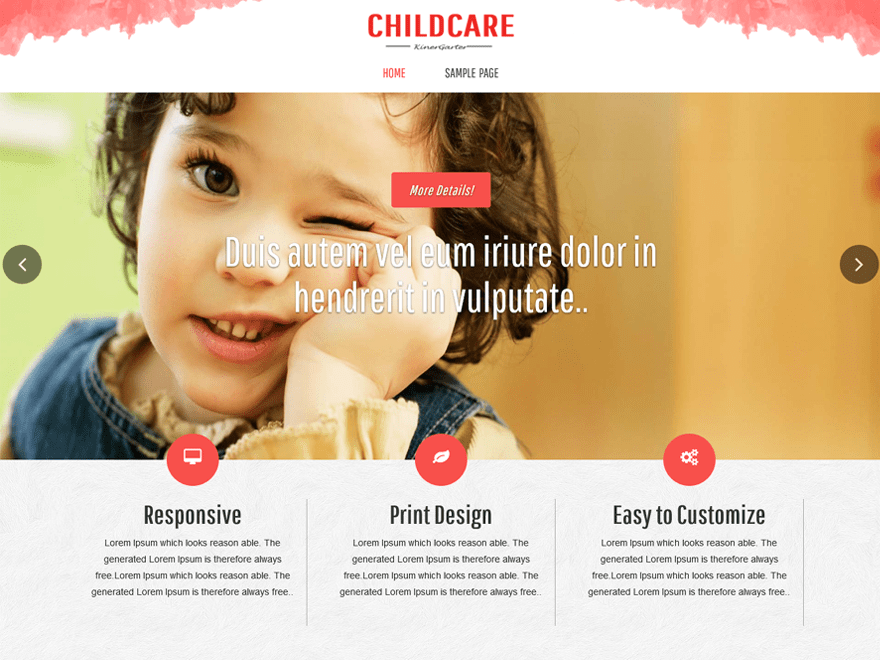 Childcare Template
