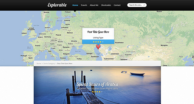 Explorable Template