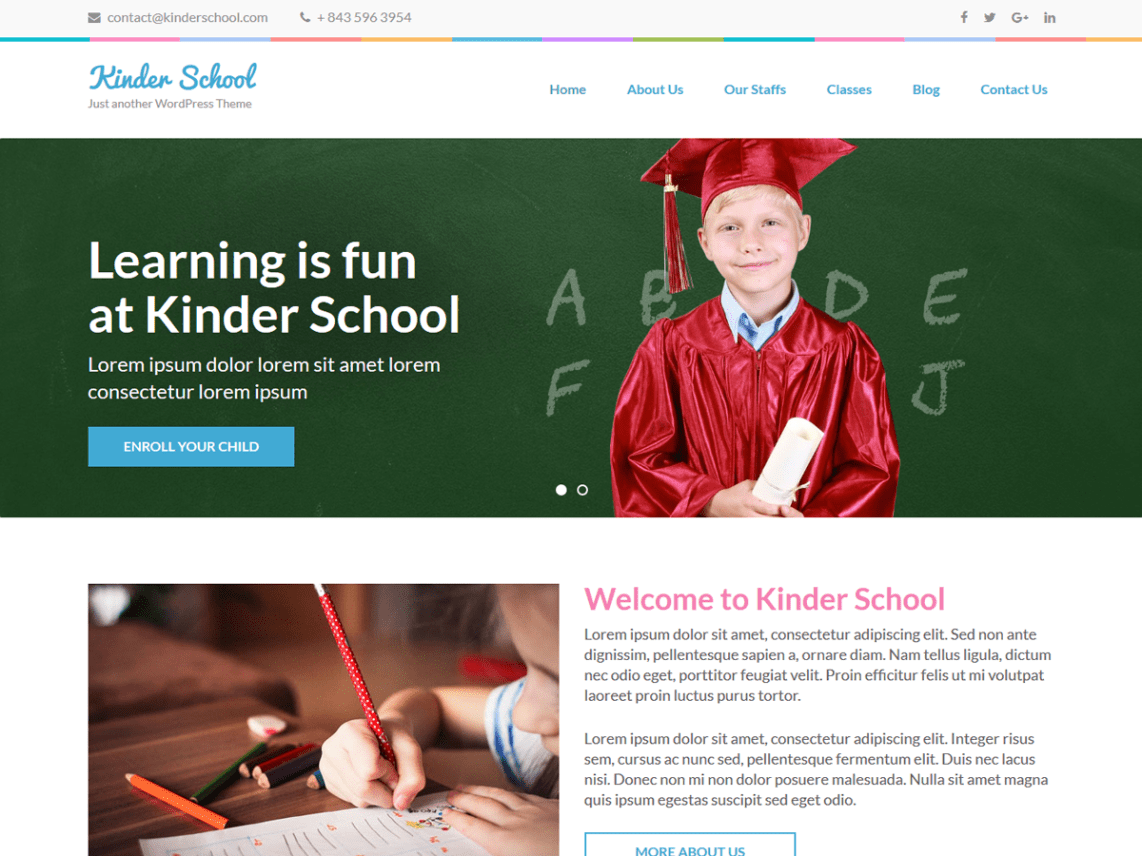 Preschool and Kindergarten Template