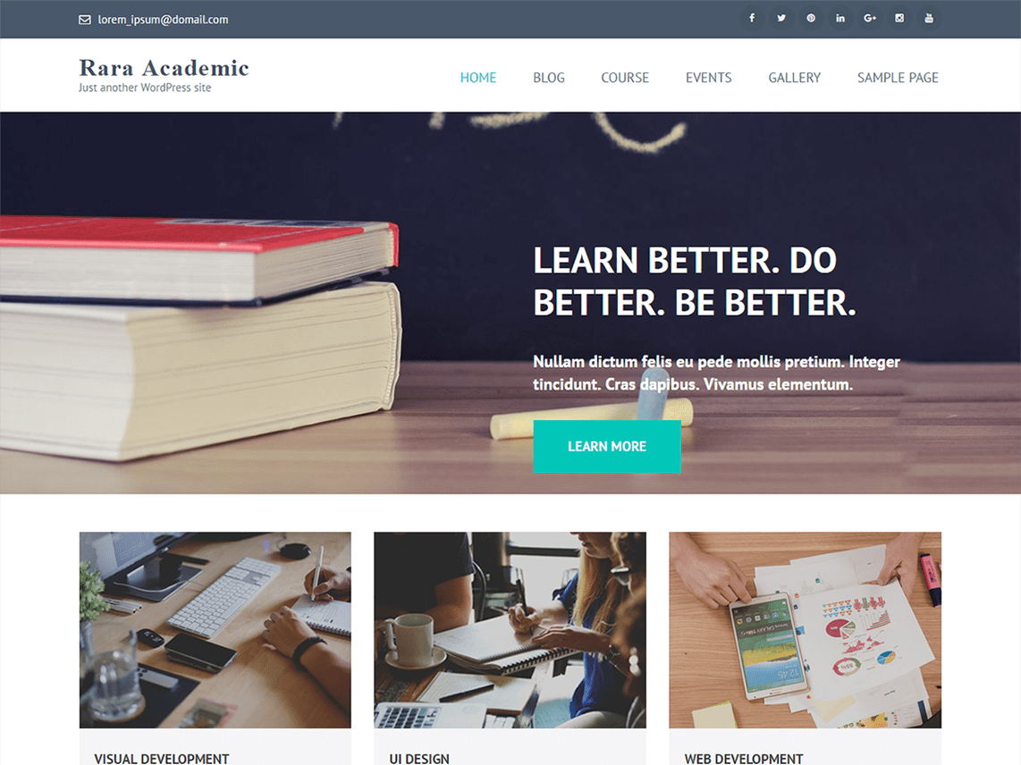 Rara Academic Template