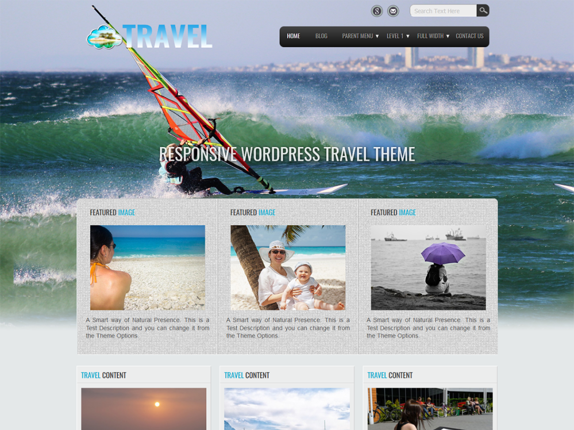 Travel Lite Template