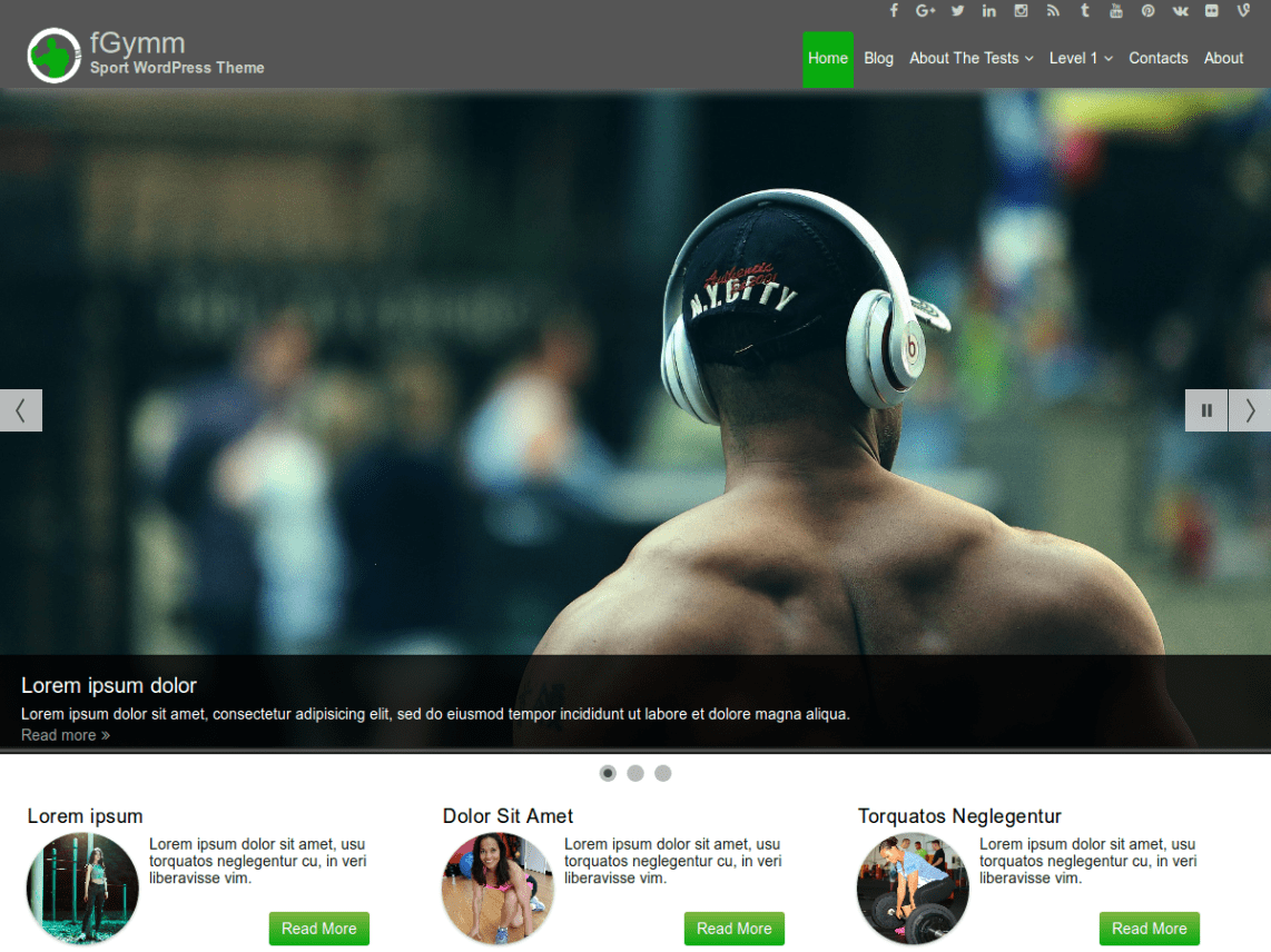 10 free personal training wordpress themes 2017 themely