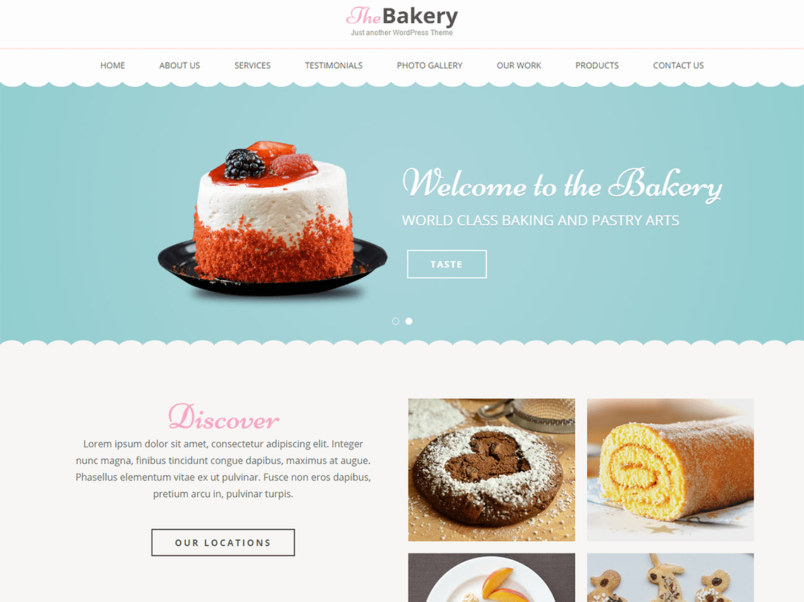 Bakes and Cakes Template