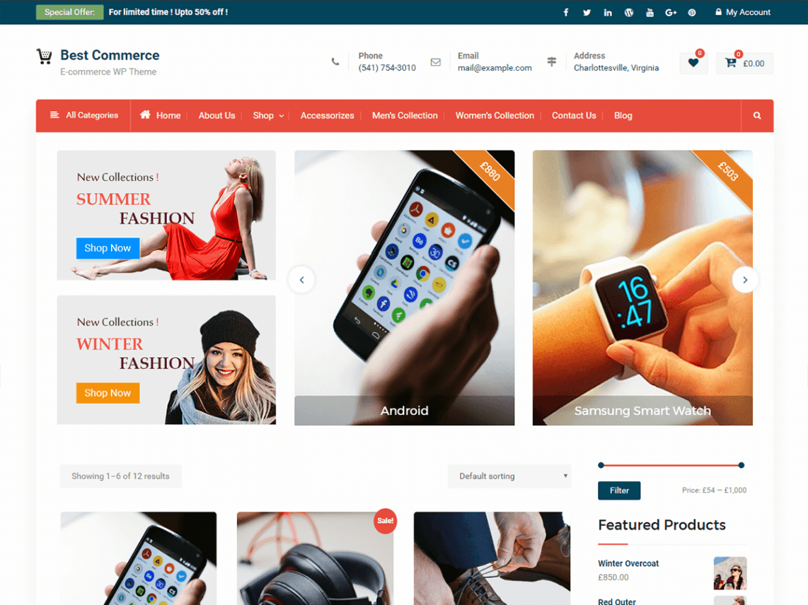 Best Commerce Template