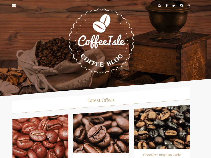 Coffeeisle Template