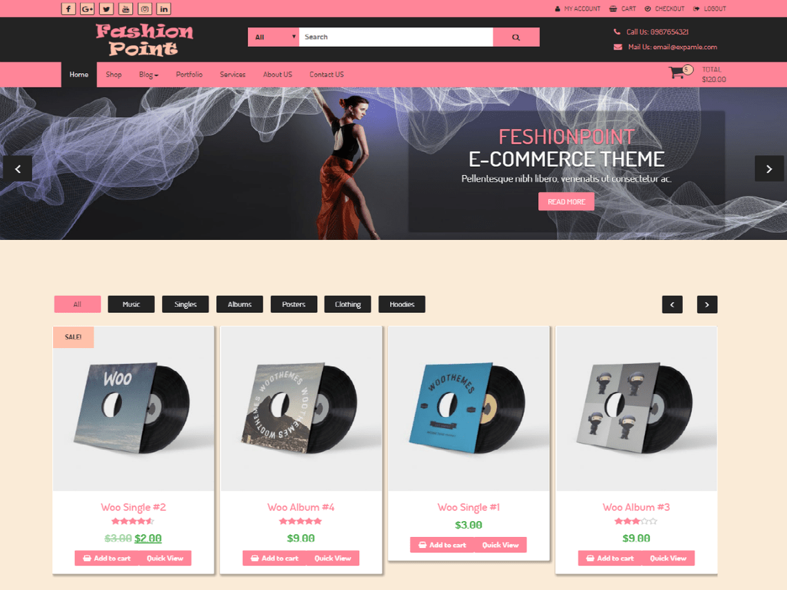 FashionPoint Template