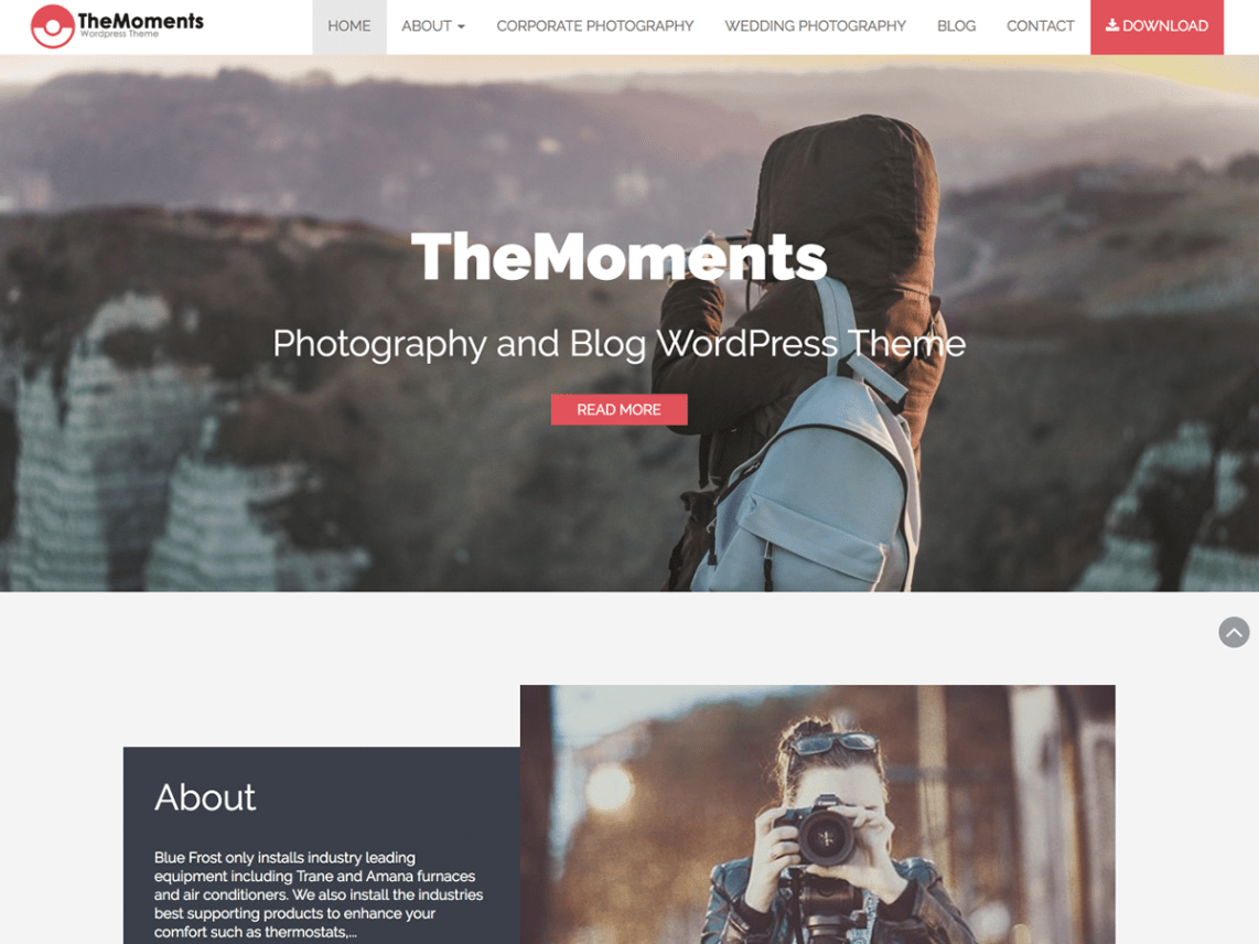 TheMoments Template
