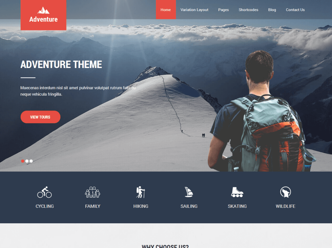 Adventure Lite Template