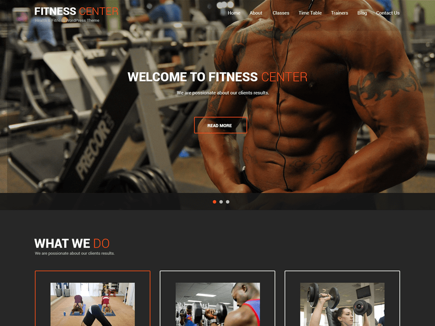 Fitness Lite Template