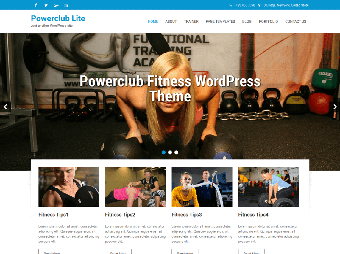Powerclub Lite Template