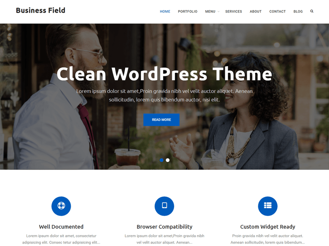 Business Field Theme