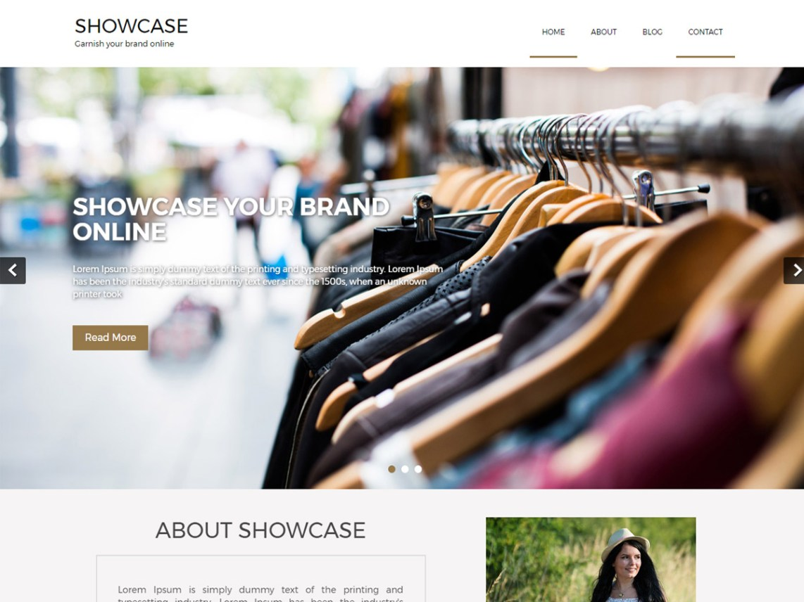 Showcase Lite Theme
