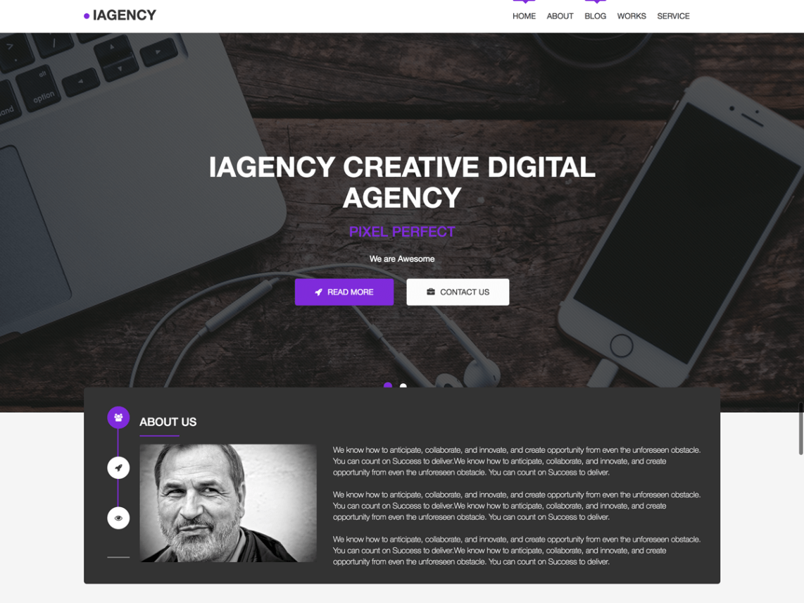 iAgency Theme