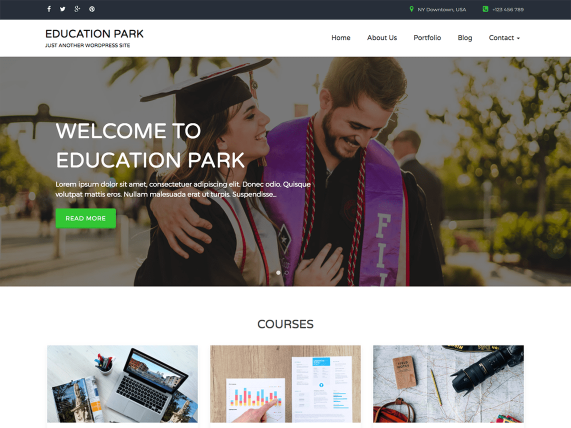 Education Park Theme