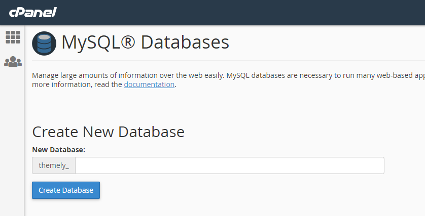 Check if your databaser server is running by trying to create a new database