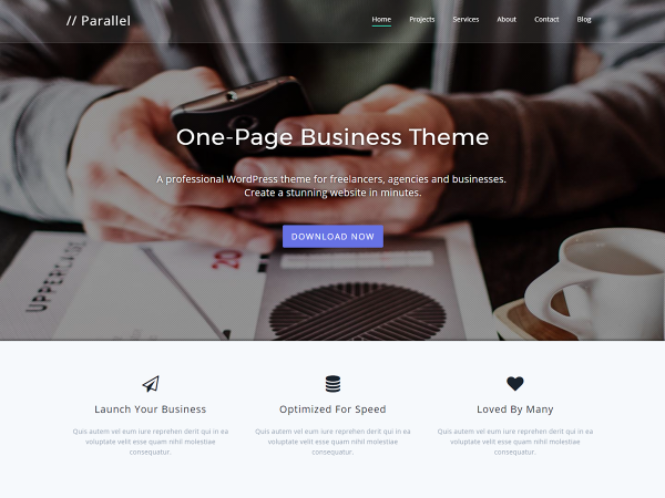 Parallel Pro WordPress Theme